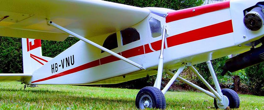 Naissance d'un Pilatus PC 6