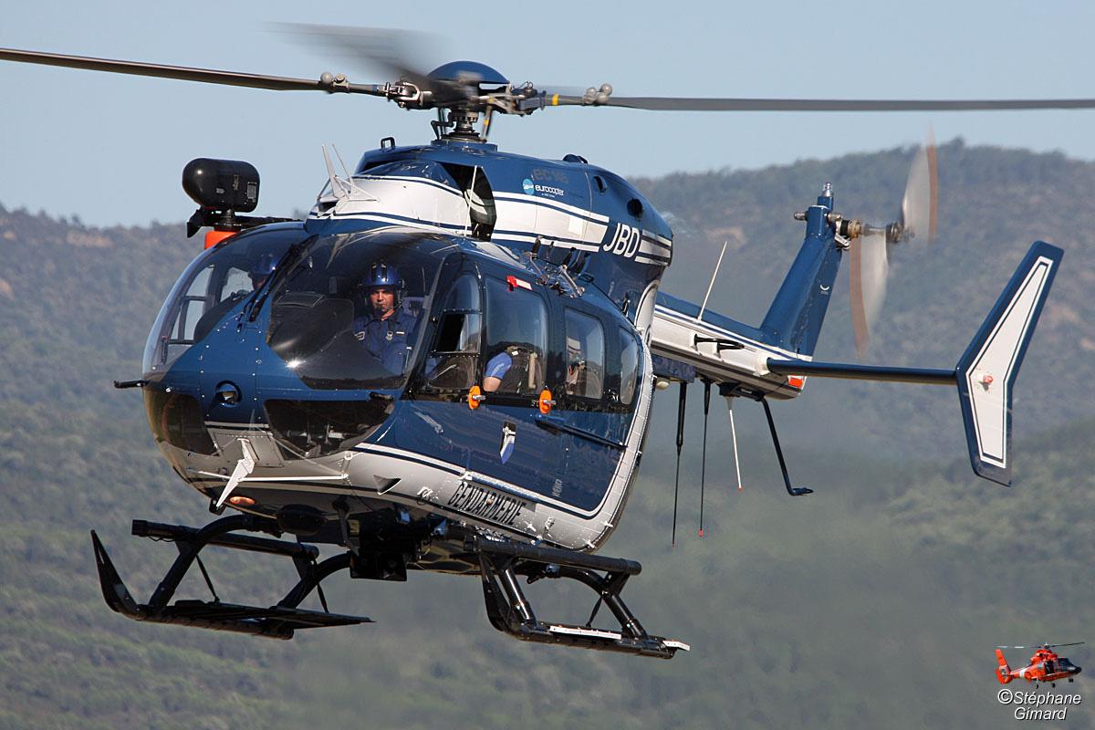 Eurocopter EC 145 Gendarmerie maquette