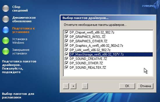 Windows XP ZVER бағдарламасын орнату