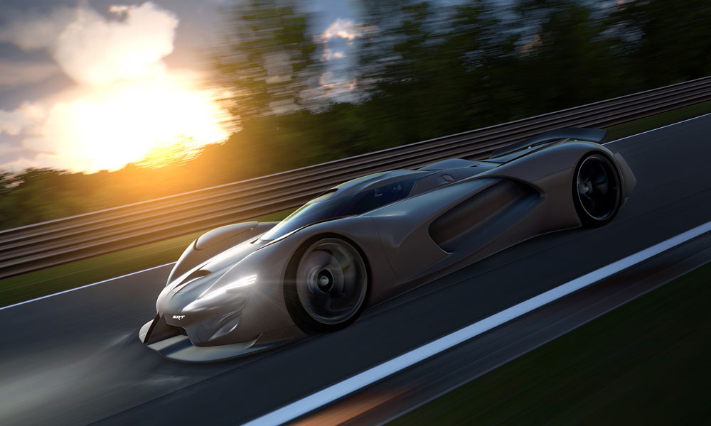 Its Your Turn To Drive The SRT Tomahawk Vision Gran