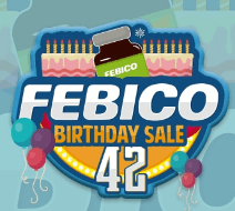 42 Years With Febico - Storewide Sale