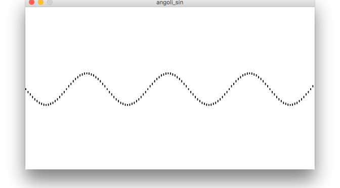 sin() e cos(): onde e funzioni cicliche