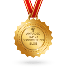 Awarded the Top 75 Songwriting Blogs of 2017