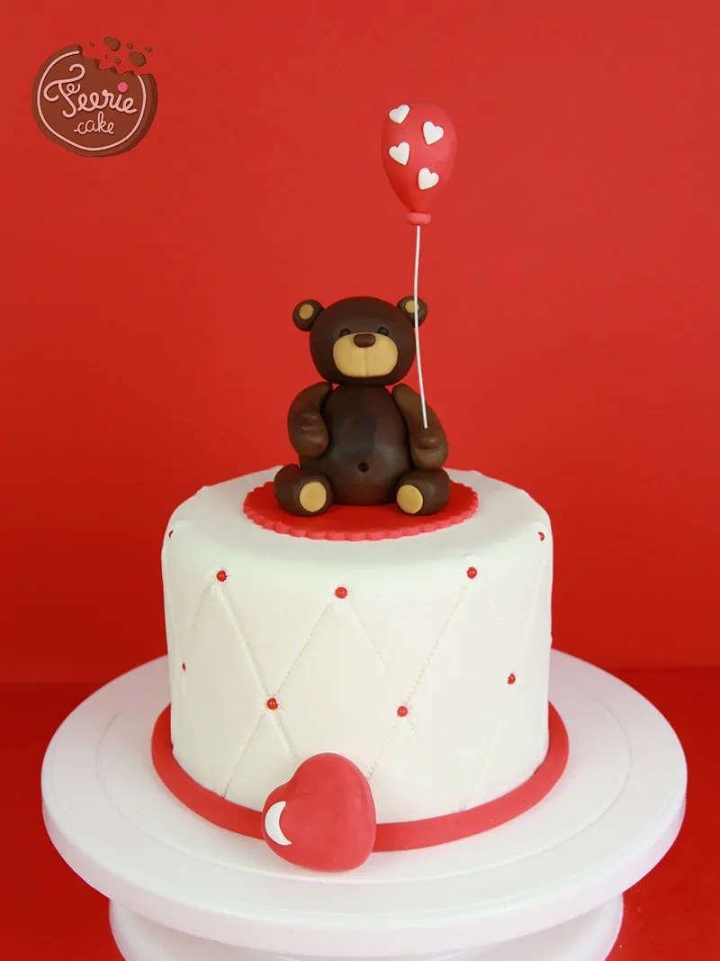 Tuto Ourson Ferie Cake