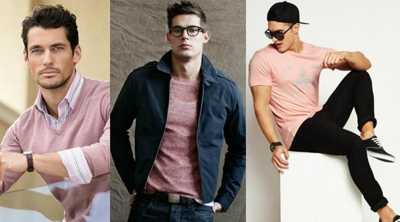 Resultado de imagem para homem usando rosa