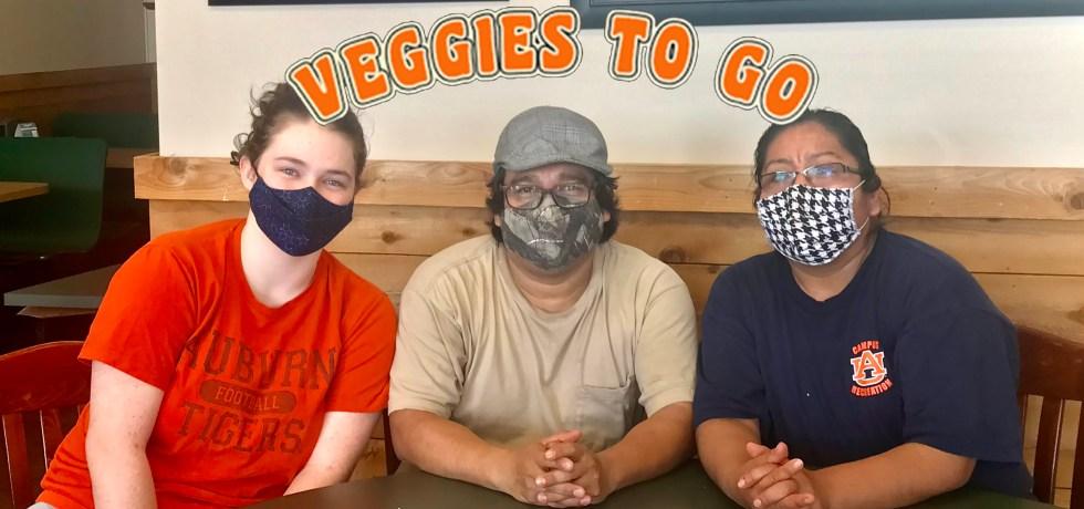 Veggies To Go Staff with Logo