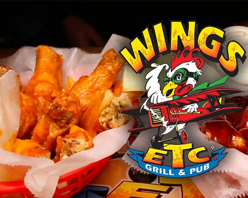 Traditional wings tossed in sauce of choice