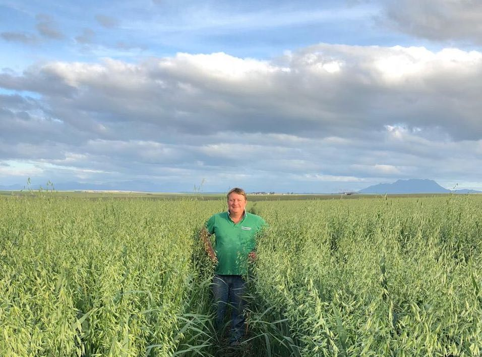 """I really like using fieldmargin – being able to keep everything about the farm together and separated by year is really important"" Willie Liebenberg, Klipfontyn, SA"