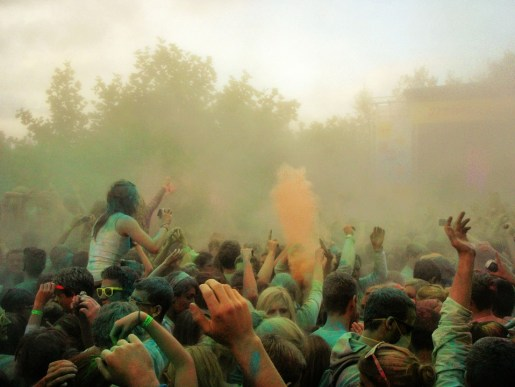 Festivales Holi en España
