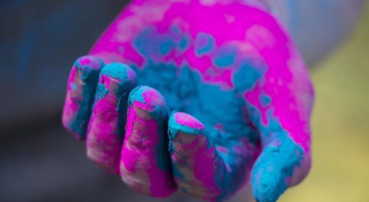 Actividades con polvo Holi-1
