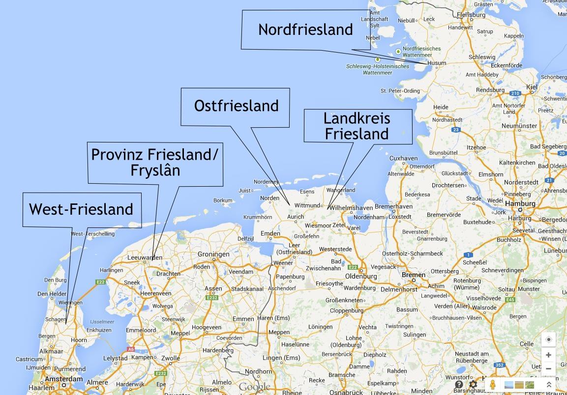 Ostfriesische Nordseeküste Karte.Wo Liegt Ostfriesland Gedankensprünge