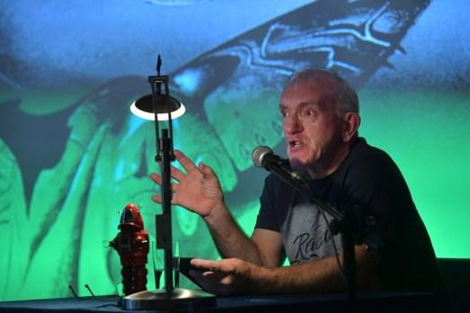 Uwe Hermann bei seiner Lesung. Foto: K. Ortgies
