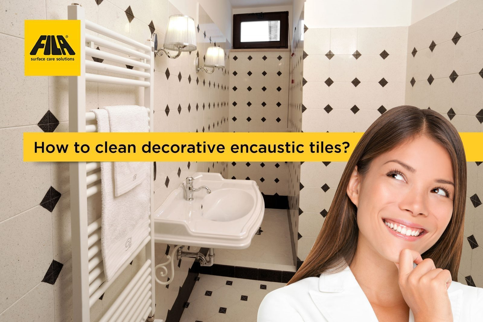 protecting decorative encaustic floor tiles