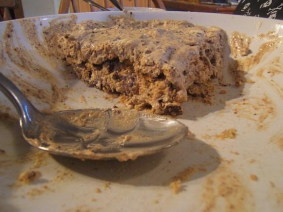 Minty chocolate fridge cake