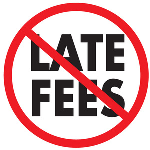 Image result for Late fees
