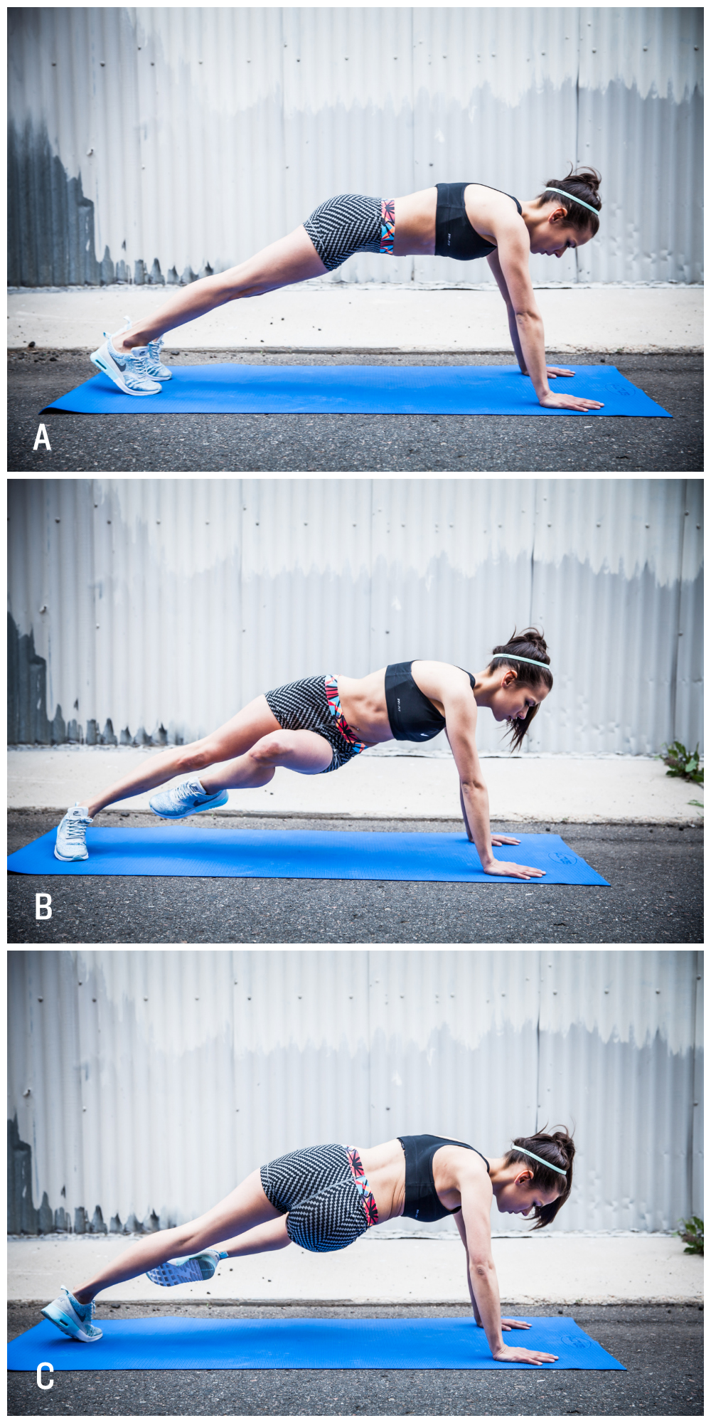 Loose the Pooch Plank @FitWithMeShelby