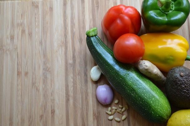 warzywa sezonowe cukinia