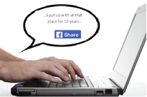 Employees on social media