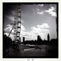 Off to the United Kingdom, the London Eye