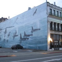 Wyland Mural on the Bowes Building
