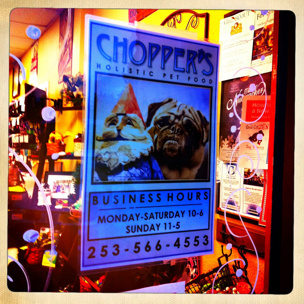I had a hair appointment today and right next door was Chopper\u0027s Holistic Pet Food at 612 Regents Blvd. Fircrest WA. It has an entirely different feel ... & Fircrest | Get Going Pezcame.Com