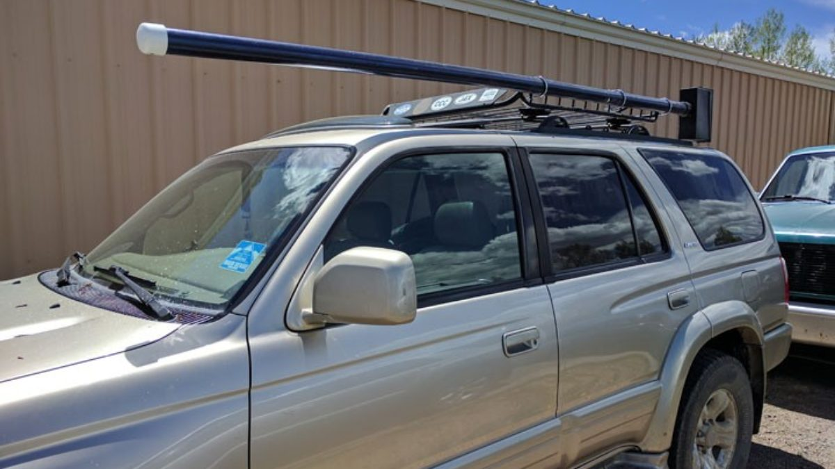 diy a fly fishing rod rack carrier