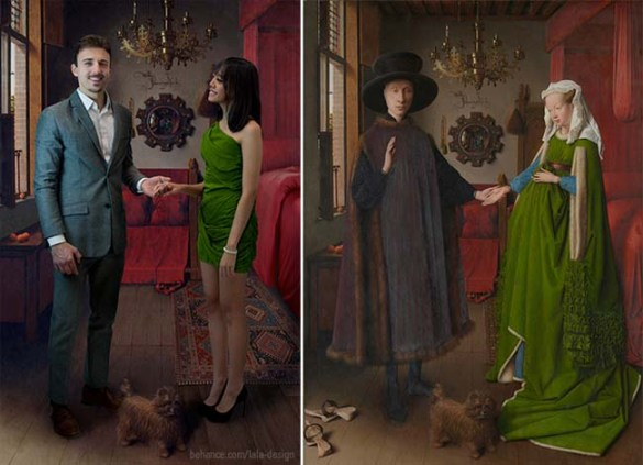 "Jan van Eyck ""The Arnolfini Portrait"""