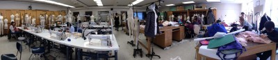 A panoramic picture of our classroom