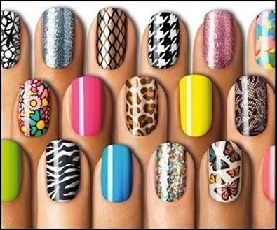Nail Art The Rediscovered Trendhot Topics Insiderhot Insider Stick On Designs
