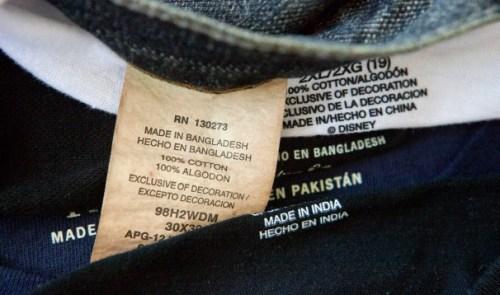 Materials and Eco Labels Photo by David Goldman/AP