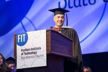 Francisco Costa Addresses Graduates