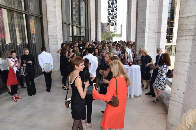 Guests at David Koch Theater/Lincoln Center