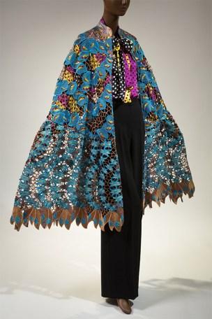 Duro Olowu, ensemble, fall 2012, England. From Black Fashion Designers.