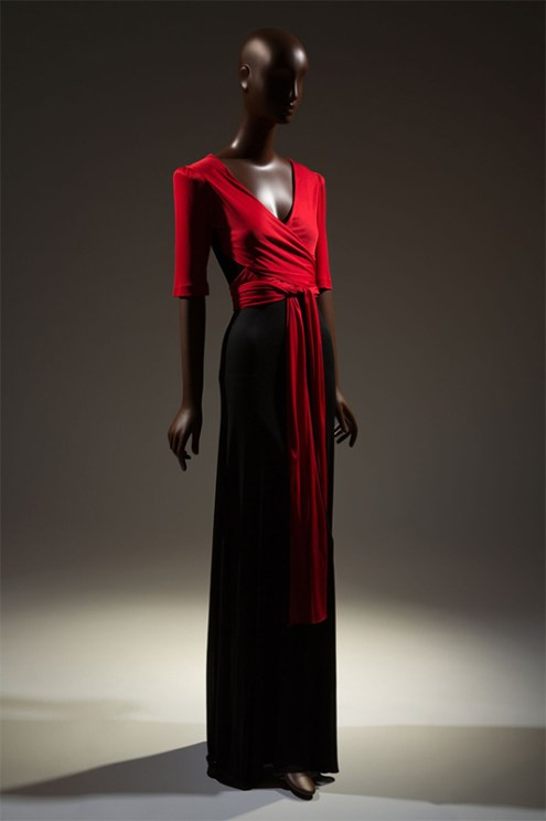 Scott Barrie, dress, circa 1973, USA. From Black Fashion Designers.