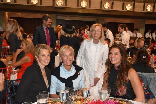 Ali Wentworth, Sharon Jacob, Valerie Steele, Brooke Shields