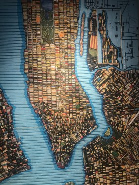 woven map of the city of new york