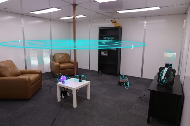 Disney показал концепт «комнаты без проводов»