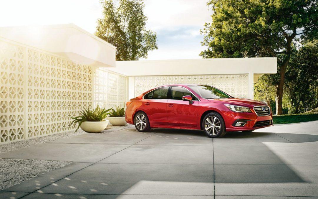 Поддержку Apple CarPlay получает Subaru Legacy