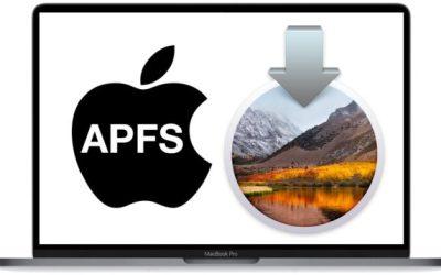 Как избежать файловой системы AFPS при установке macOS High Sierra