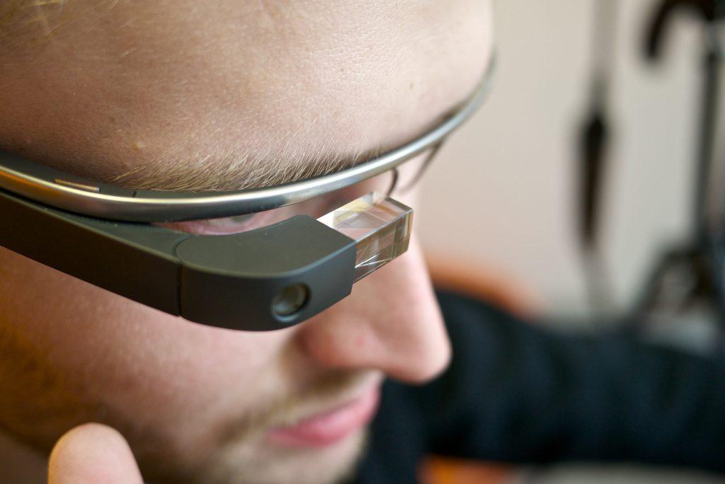 Datenbrille Augmented Reality / Foto: Kārlis Dambrāns (flickr.com)