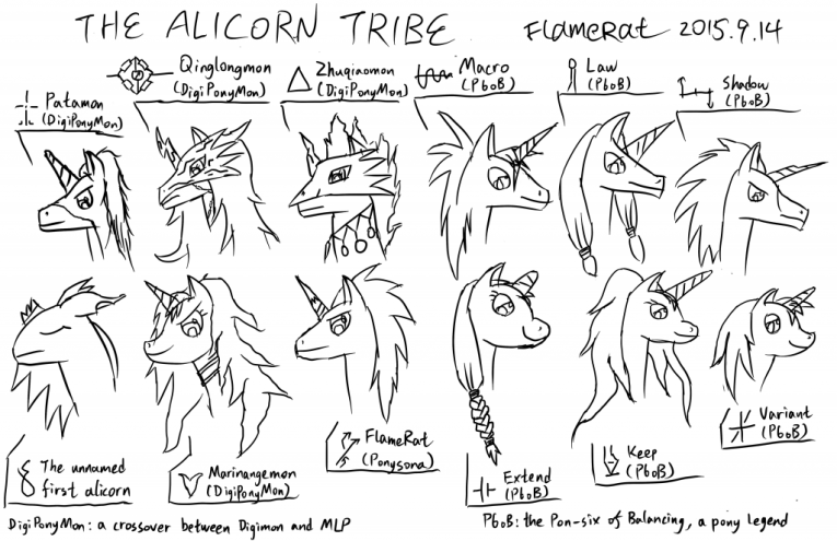 the alicorn tribe