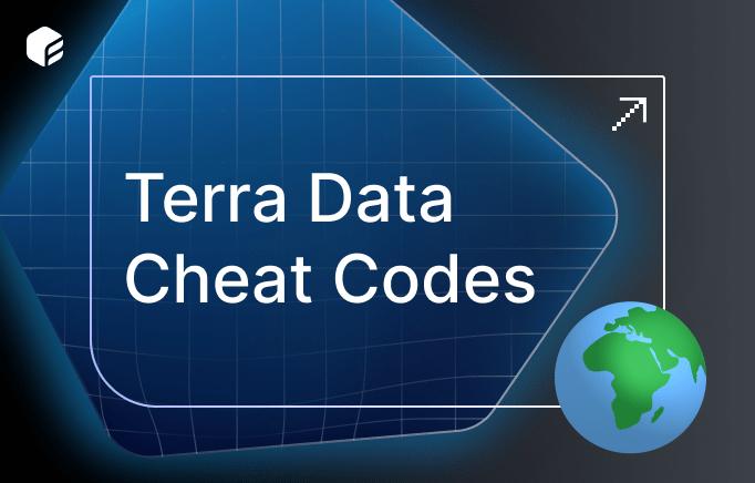 Terra Data Cheat Codes