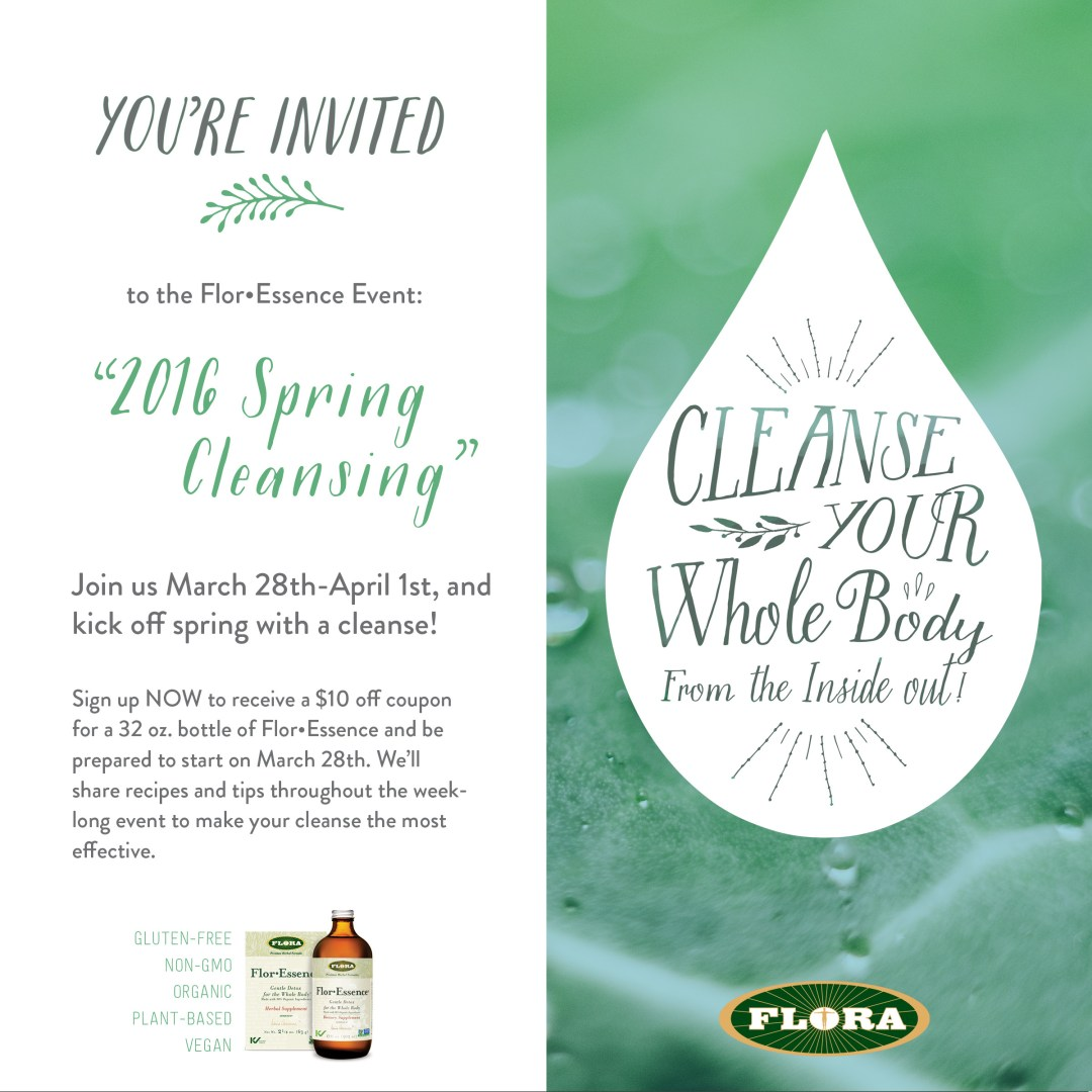 Spring Cleansing Invite