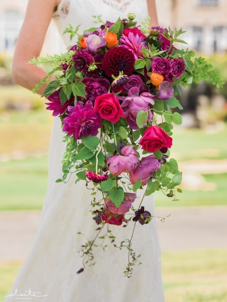 Flora Nova Design Seattle Colorful Indian Wedding New Castle Golf Club Bridal Bouquet