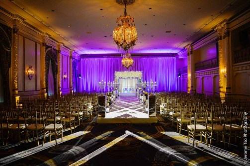 Flora Nova Design Luxury Fairmont Seattle Wedding