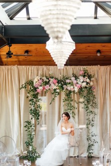 Flora Nova Design Seattle Blush Peony Ballard Wedding