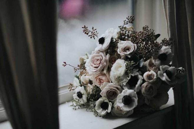 Flora Nova Design White Winter Wedding