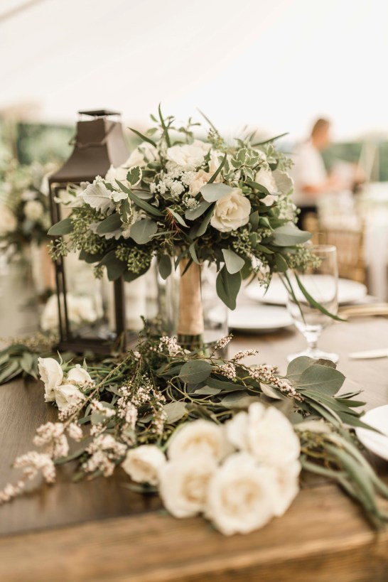 Flora Nova Design Seattle Summer Garden Wedding DeLille Cellars