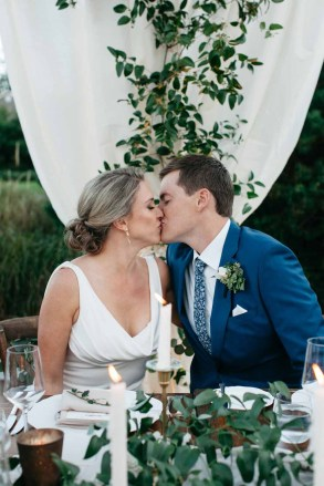 Elegant Tent Wedding by the Sea Flora Nova Design