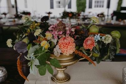 Colorful same sex Admirals House Seattle Wedding Flora Nova Design